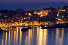Marina Corricella on Procida Island Stock Photos