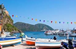 Marina Corta Harbour Royaltyfria Bilder