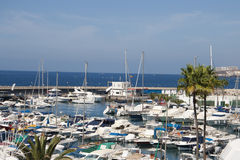 Marina in Costa Adeje Royalty Free Stock Image