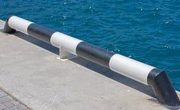 Marina cumownica na moorage Zdjęcia Royalty Free