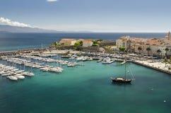 Marina d'Ajaccio Photographie stock