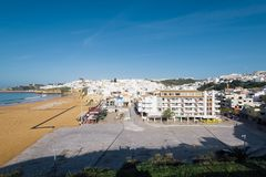Marina d'Albufeira, Algarve, Portugal Photos stock