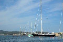 Marina d'Olbia photos libres de droits