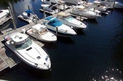 Marina dans Aventura, la Floride Photo stock