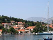 Marina dans Cavtat Images stock