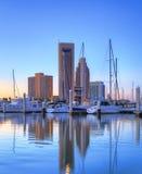 Marina dans Corpus Christi Photographie stock libre de droits