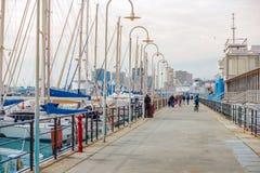 Marina dans Genoa Italy photo libre de droits