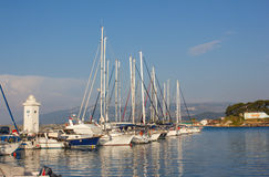 Marina dans Urla Image stock
