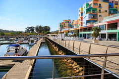 Marina de Albufeira Royalty Free Stock Photo