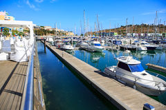 Marina de Albufeira Stock Photography