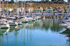 Marina de Albufeira Royalty Free Stock Photos