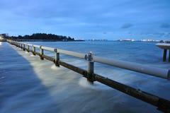 marina de barrage Images libres de droits