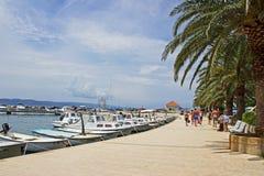 Marina de Baska Voda Image libre de droits