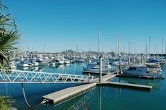 Marina de bateau Images stock