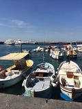 Marina de bateau Photos libres de droits