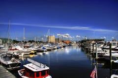 Marina de bateau Photo libre de droits