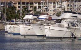 Marina de bateaux Photo libre de droits