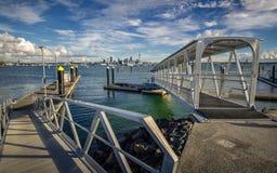 Marina de Bayswater Image libre de droits