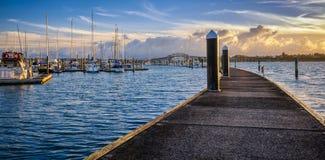 Marina de Bayswater Images libres de droits