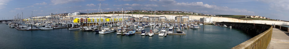 marina de Brighton Photo libre de droits