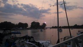 Marina de Buffalo Image libre de droits