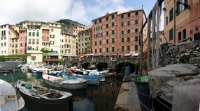 Marina de Camogli Image stock