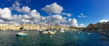Marina de Cottonera images libres de droits