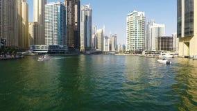 Marina de Dubaï banque de vidéos