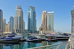 Marina de Dubaï Photos stock
