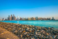 Marina de Dubaï. Images stock