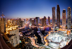 Marina de Dubaï Image stock