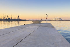 Marina de Faliro à Athènes photo stock