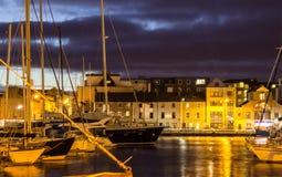 Marina de Galway Image libre de droits