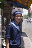 Marina de guerra de la gente de Vietnam Foto de archivo