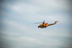 Marina de guerra del holandés del helicóptero Imágenes de archivo libres de regalías