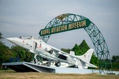 Marina de guerra tailandesa real del Sea-Harrier de Av-8s Imagenes de archivo