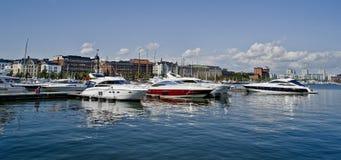 Marina de Helsinki Photos libres de droits