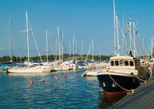 Marina de Helsinki Photographie stock libre de droits