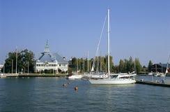 Marina de Helsinki Photo libre de droits