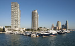Marina de Miami Beach Photographie stock
