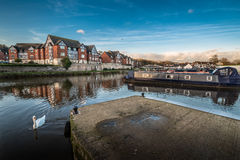 Marina de Northwich photos stock