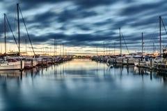 Marina de pont de Tauranga image stock