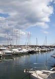 Marina de port de Garrucha images stock