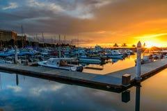Marina de port de Sutera Image libre de droits