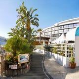 Marina de port du Gibraltar Photos libres de droits