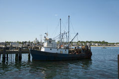 Marina de Provincetown, le Massachusetts photographie stock libre de droits