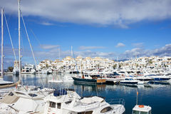 Marina de Puerto Banus Photos stock
