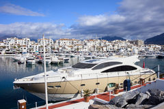Marina de Puerto Banus Image stock
