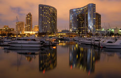 Marina de San Diego Images libres de droits