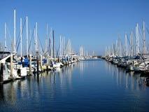 Marina de Santa Barbara Photo libre de droits